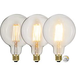 LED-lamppu Star Trading Decoration LED  3-step click 354-87 Ø 125x180mm E27 65W 2100K 70/350/700lm