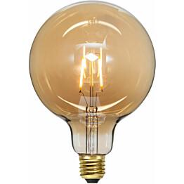LED-lamppu Star Trading Decoration LED 355-52, Ø125x182mm, E27, meripihka, 0.75W, 2000K, 80lm