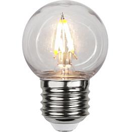 LED-lamppu Star Trading Decoration LED 359-21-1 Ø 45x68mm E27 kirkas 13W 2700K 130lm