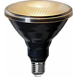 LED-lamppu Star Trading Spotlight LED 356-80, Ø121x133mm, E27, musta, 15W, 2700K, 1200lm