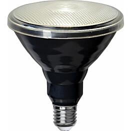 LED-lamppu Star Trading Spotlight LED 356-81, Ø121x133mm, E27, musta, 15W, 4000K, 1300lm