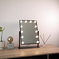 LED-meikkipeili Lumo Hollywood 47 x 36,5 x 8 cm 3000/5000K