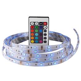 LED-nauha Nimba 3M IP65 20W RGB 3000mm + muuntaja + kauko-ohjain