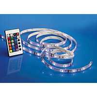 LED-nauha Airam LED Strip RGB 2 10x3000 mm 420 lm/m + virtalähde + himmennin