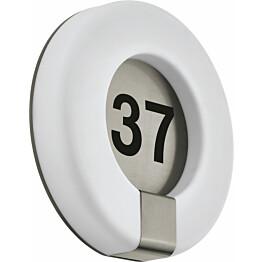 LED-numerovalaisin Eglo Marchesa Ø300 mm valkoinen
