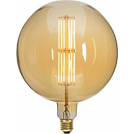 LED-polttimo Star Trading Industrial Vintage E27 G200 10W 2000K himmennettävä meripihka