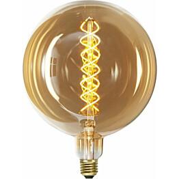 LED-polttimo Star Trading Industrial Vintage E27 G200 6W 2000K himmennettävä meripihka