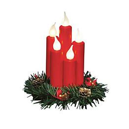 LED-pöytäkoriste Markslöjd Hanna E10 punainen