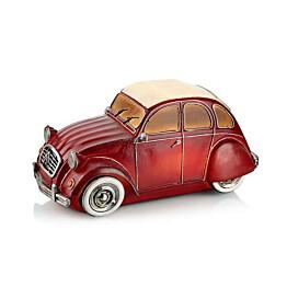 LED-pöytäkoriste Markslöjd Nostalgi C3-auto punainen