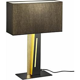LED-pöytävalaisin Trio Nestor 560x400x150 mm musta/kulta
