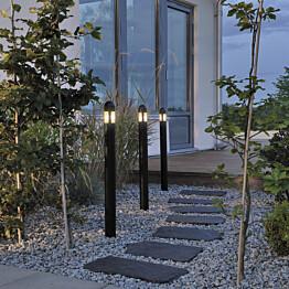 LED-puutarhavalosetti Konstsmide 3 osainen 7452-750 Amalfi 3 x 0,6 W