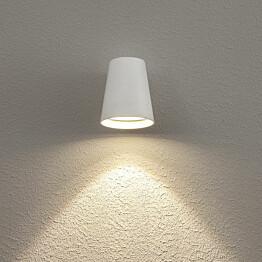 LED-seinävalaisin Hide-a-lite Cone valkoinen 3000K