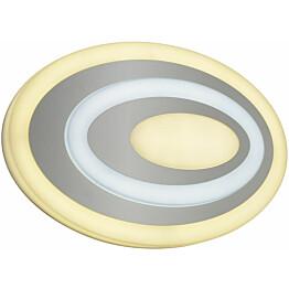 LED-seinävalaisin Trio Subara 56x400x260 mm valkoinen