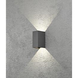 LED-seinävalaisin Cremona 7940-370 80x110x170 mm ylös/alas antrasiitti