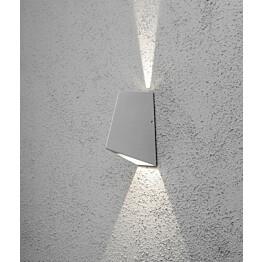 LED-seinävalaisin Imola 7928-310 85x135x195 mm ylös/alas alumiini