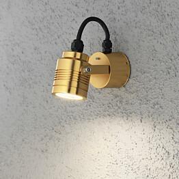 LED-seinävalaisin Monza 7903-800 80x130x80 mm messinki