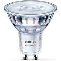 LED-spottilamppu Philips SceneSwitch GU10 5 W