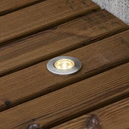 LED-terassivalaisinsarja Konstsmide Mini LED 7464-000 6x0.36W teräs 6-osainen