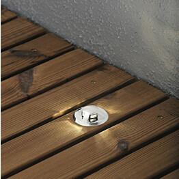 LED-terassivalaisinsarja konstsmide Mini LED 7467-000 6x0.36W kuvulla teräs 6-osainen