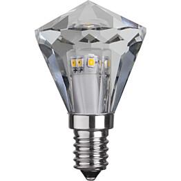 LED-timanttilamppu Star Trading Illumination LED 361-03 Ø 40x65mm E14 kirkas 33W 2700K 240lm himmennettävä