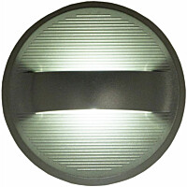 LED-ulkoseinävalaisin Aneta Curve IP54 tummanharmaa