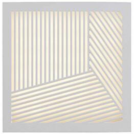 LED-ulkoseinävalaisin Nordlux Maze Straight, 180x180x40mm, valkoinen