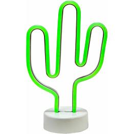 LED-valaisin PR Home Kaktus 285 x 180 x 100 mm vihreä