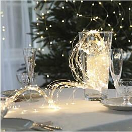 LED-valoketju Star Trading Dew Drop 200 cm lämmin valkoinen