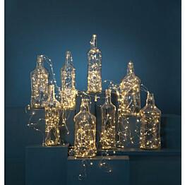 LED-valoketju Star Trading Dew Drop 300 cm lämmin valkoinen