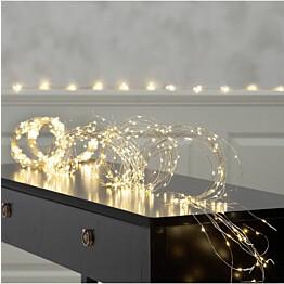 LED-valoketju Star Trading Dew Drop 300 cm päivänvalo