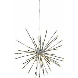 LED-valokoriste Star Trading Firework Ø 30 cm IP44 hopea