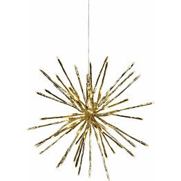 LED-valokoriste Star Trading Firework Ø 30 cm IP44 kulta