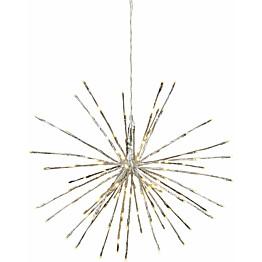 LED-valokoriste Star Trading Firework Ø 60 cm IP44 hopea