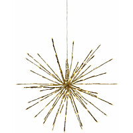 LED-valokoriste Star Trading Firework Ø 60 cm IP44 kulta