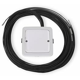 LED-valokuitu/yhdistelmävalaisin Ensto AVD5.23L/12.3, IP64, 2x3W, 12kpl kuituja