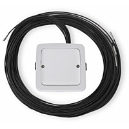 LED-valokuituvalaisin Ensto AVD5.13L/12.3, IP64, 1x3W, 12kpl kuituja