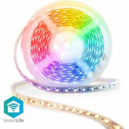 LED-valonauha Nedis Wi-Fi Smart RGB, 5m