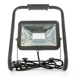 LED-valonheitin LED Energie Cspot 30 W 2400lm musta jalustalla