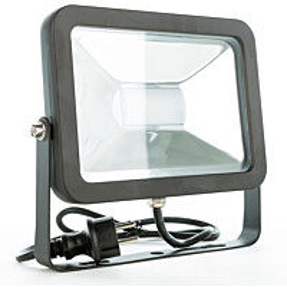 LED-valonheitin LED Energie Cspot 50 W IP44 3500lm musta