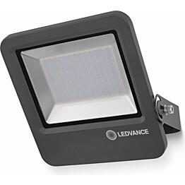 LED-valonheitin Ledvance Endura Flood 100W, 4000K, tummanharmaa