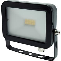 LED-valonheitin Harju 10W IP44 musta litteä
