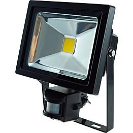 LED-valonheitin ElectroGEAR 20W IP44 hämäräkytkimellä