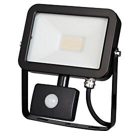 LED-valonheitin ElectroGEAR 20W IP44 liiketunnistimella musta