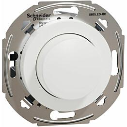 LED-valonsäädin Schneider Electric Renova RC UPK 0-370W valkoinen