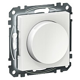 LED-valonsäädin Schneider Electric Exxact UNI200LED 5-200W RCL UK, valkoinen