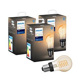 LED-älylamppu Philips Hue W 7W E27 A60 3kpl/pkt