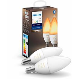 LED-älylamppu Philips Hue WA 5,2W E14 B39 2kpl/pkt