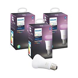 LED-älylamppu Philips Hue WCA 9W E27 A60 3 kpl