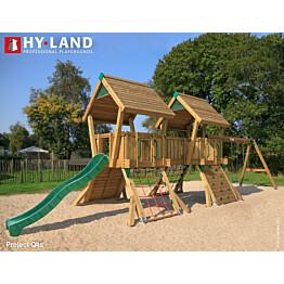Leikkikeskus Hy-land Q4S sis. keinut