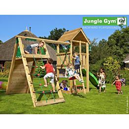 Leikkikeskus Jungle Gym Club sis. kiipeilymoduuli ja liukumäki
